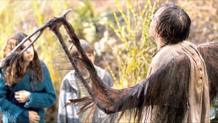 男孩救了一个流浪汉,却发现他长着翅膀,原来他根本不是人类