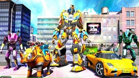 【永哥玩游戏】变形金刚汽车人大乱斗 变形机器人乱斗
