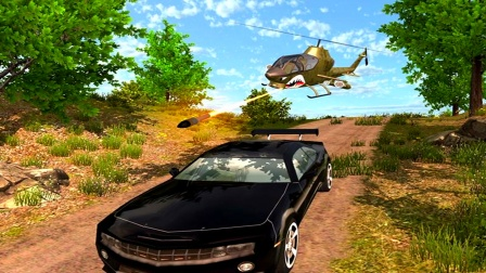【永哥玩游戏】直升机山区巡逻救援 武装直升机执行任务