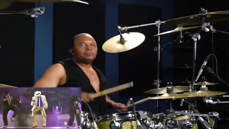 """迈克尔杰克逊多年御用鼓手,堪称""""人鼓合一"""" 节奏干净充满力量,如今却笑容一点都看不到"""