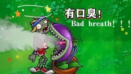 植物大战僵尸:食人花VS僵尸