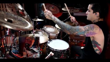 Fernando Lemus - Roderick van den Brink - Bury all the Hate - Drum Playthrough