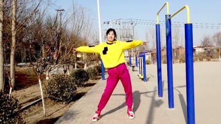 健身操《花海情缘》瘦大腿,减肚子,强身健体跳起来吧