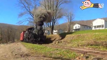 美国齿轮传动蒸汽机车