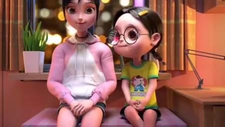 爆笑两姐妹:土豆害羞了