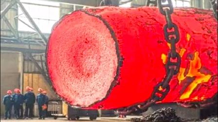 德国钢铁锻造技术已经炉火纯青,这可不多见,开眼了!