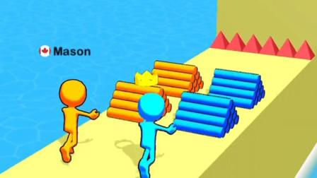 小游戏:小蓝人怎么跑这么快?