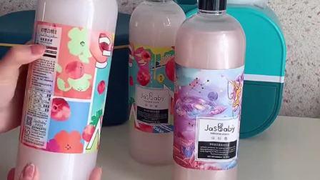 开箱:茉莉宝贝香氛洗衣液,可以替代香水的洗衣液