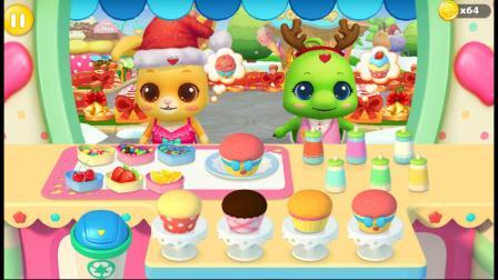 美食嘉年华小游戏,来制作好吃的点心吧!