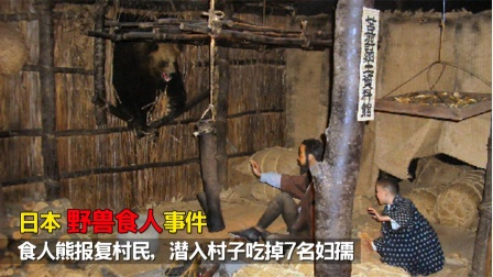 日本野兽食人事件:食人熊潜入村子吃掉妇孺