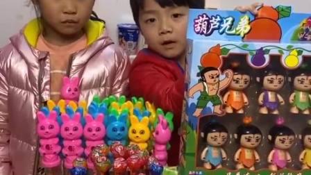 童年的记忆:送礼物给小朋友喽