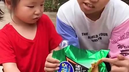 童年的记忆:上面写着小孩不能吃!