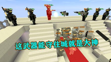 守住城堡 伙伴吐槽作者 这武器如果能守住城就是大神