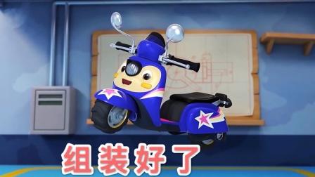 汽修师是如何组装帅气摩托车呢?