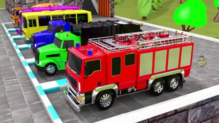 汽车玩具故事:太棒了!托马斯小火车带来了哪些颜色的车车?