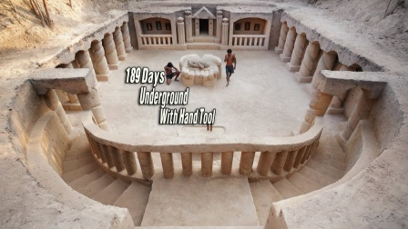 野外求生技巧!耗时189天在地下建造最大的古代神庙
