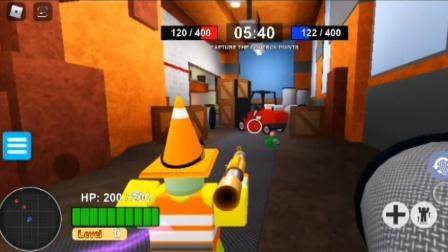 虚拟世界ROBLOX植物大战僵尸:土豆地雷逃跑了