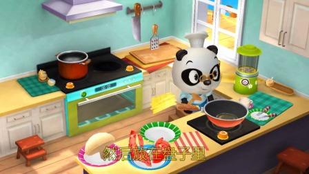 熊猫餐厅:今天会有哪些客人来呢?