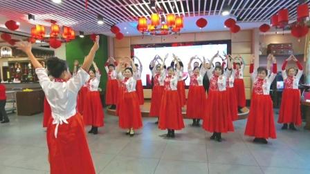 十八、手语舞  表演者 :欧阳玉萍全体队员