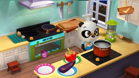 熊猫餐厅:今天要做什么菜呢?