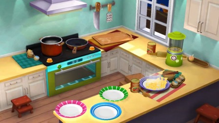 熊猫餐厅:薯条可以做菜吗?