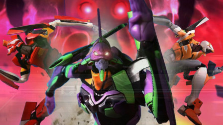 【EVA定格动画】第十使徒来袭!决战空天使萨哈奎尔