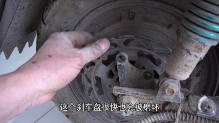 碟刹下泵螺丝拆不下来怎么换刹车片?你遇到这种情况是怎么做的?