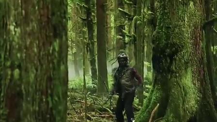 #美剧 地球百子和森林中神秘怪人相遇,他是敌是友呢