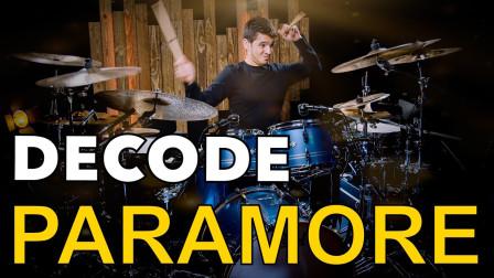 Bruno Valverde - Paramore - Decode - Drum Playthrough