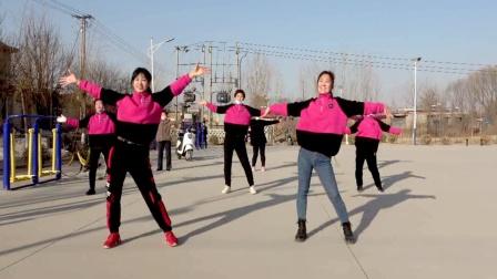 大妈们最爱的健身操《山那边》跳出健康,跳出好身材