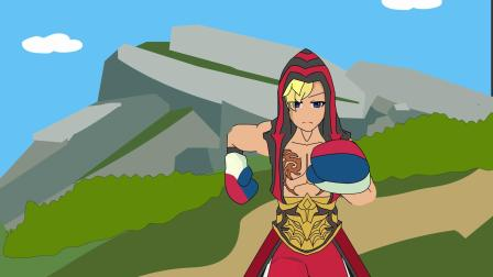 王者动画小剧场第250集:达摩的野全被队友抢走,心态炸了
