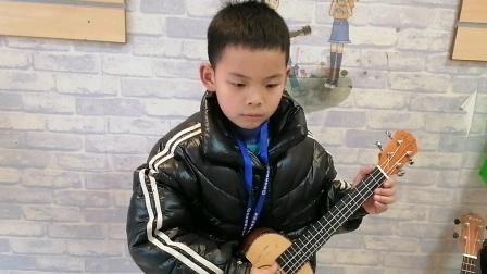 初级班夏梓杨尤克里里练习视频