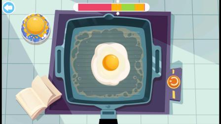 海岛美食小游戏,来一个炒蛋作为装饰!