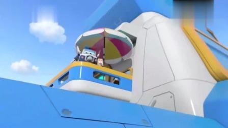 包警长遇到大麻烦,美味的甜甜圈被海鸥抢了,乐迪在旁笑疯了!