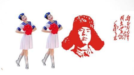 玖月广场舞《永恒的歌谣》背面演示绕子龙最新原创芭蕾元素