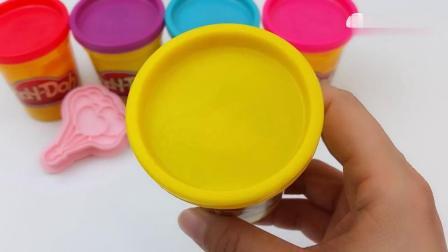 早教益智:创意手工DIY,用彩泥制作小气球和彩虹