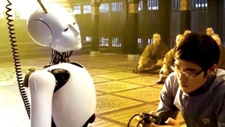 机器人在寺庙做导游,突然有一天顿悟立地成佛