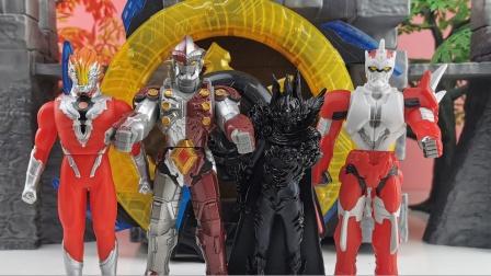 绝世神兵罗布光轮诞生了 钢铁武士火焰战士和怪兽黑暗皇帝来竞争