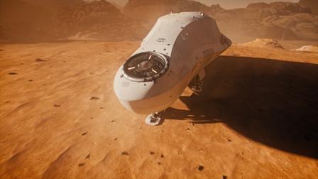 宇航员逃往火星,飞船上沉迷研究马桶!科幻电影《阴阳魔界》