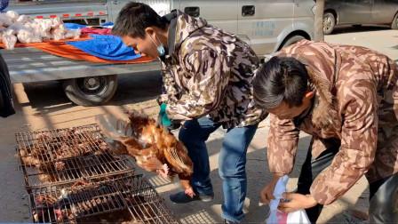 小赵花200元买8只老母鸡,回家后爸爸说吃亏了,大家看看觉得贵吗
