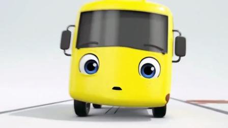 宝宝巴士:坚持不懈的小车,和爱偷懒的小巴士