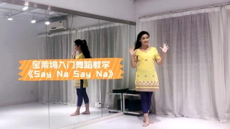 『舞蹈教学』宝莱坞入门舞蹈《say na say na》分解版【杭州太拉国际东方舞&印度舞培训漫漫老师】