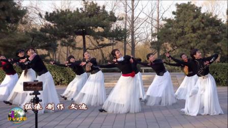 玲珑广场舞《我的九寨》,冰冰、王鹤、小马等,无一不美!