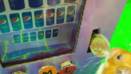 其他动画-小仓鼠 vs 自动售货机