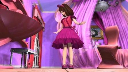 精灵梦叶罗丽:思思起床晚了,叶罗丽用魔法把主人变得这么漂亮?