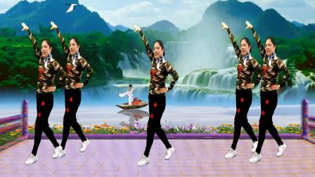 原创经典名歌《情歌赛过春江水》简单16步 时尚风格 不容错过