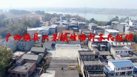 带你去看广西横县六景镇竹塘村的苏氏祖祠,九曲来水的好格局!