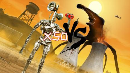 搞笑SCP:遇到泰坦成员day18,派出50个七彩机械汽笛人能否收容它