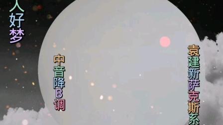 萨克斯欣赏《好人好梦》袁建新萨克斯示范系列