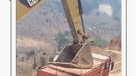 就没有挖掘机不能干的活!